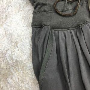Brunello Cucinelli Pants - Brunello Cucinelli Silk Strapless Jumpsuit